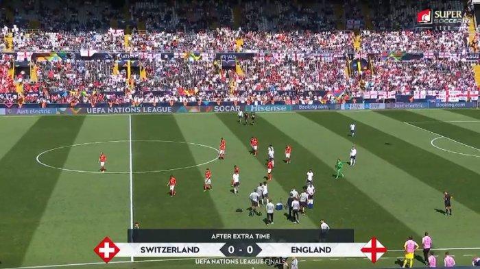 Inggris Vs Swiss