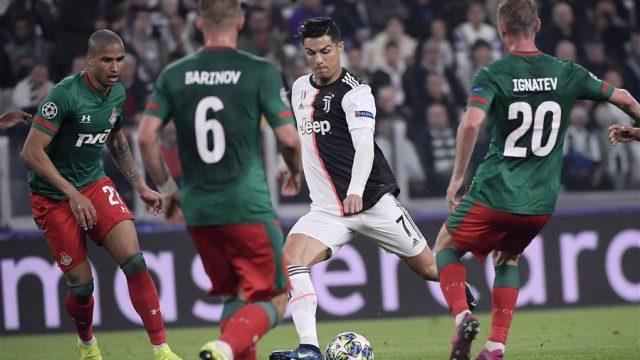 Lokomotiv Moskwa vs Juventus